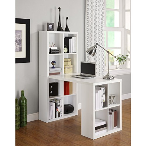 Avenue Greene White Hollow Core Hobby Desk by Avenue Greene