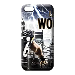 diy zheng Ipod Touch 5 5th case Top Quality High Grade Cases phone carrying cover skin pittsburgh steelers nfl football