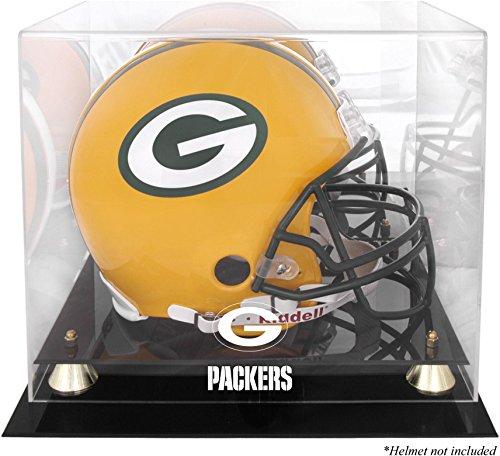 Mounted Memories Green Bay Packers Helmet Display (Mounted Memories Green)