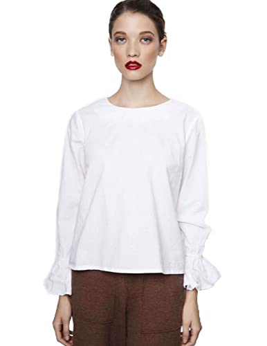 Compañia Fantastica Camisa Frappe Blanca