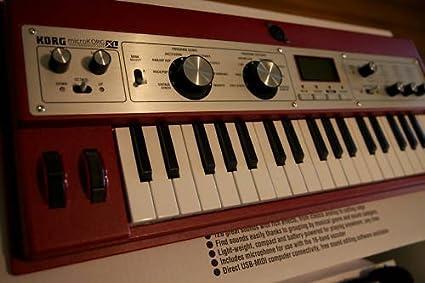 Amazon.com: Korg microkorg XL Rojo sintetizador y Vocoder ...