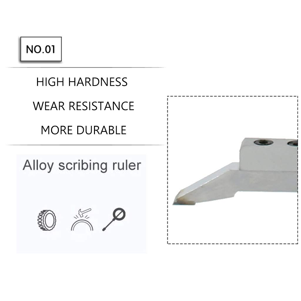0-300MM Metric Quality Stainless Steel Height Vernier Caliper Altitude Slide Gauge Marking Ruler Working Home DIY Tools