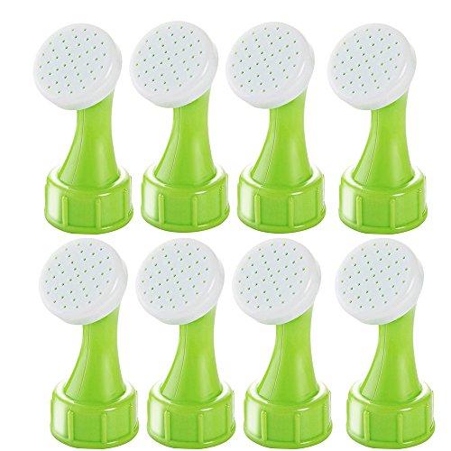 (MyLifeUNIT Bottle Cap Sprinkler, Bonsai Bottle Watering Spout for Indoor (Set of 8))