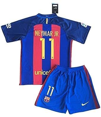 Amazon.com: Neymar #11 2016-2017 NEW FC Barcelona Home