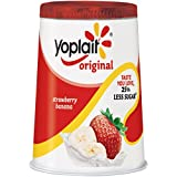 Yoplait, Original Lowfat Yogurt, Strawberry Banana, 6 oz