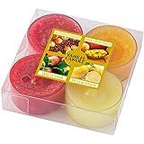 YANKEE CANDLE ヤンキーキャンドル ティーライトキャンドルアソート4個セット フルーツ