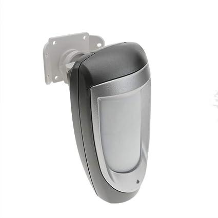 BeMatik - Detector volumétrico inalámbrico o cableado Exteriores para Alarma
