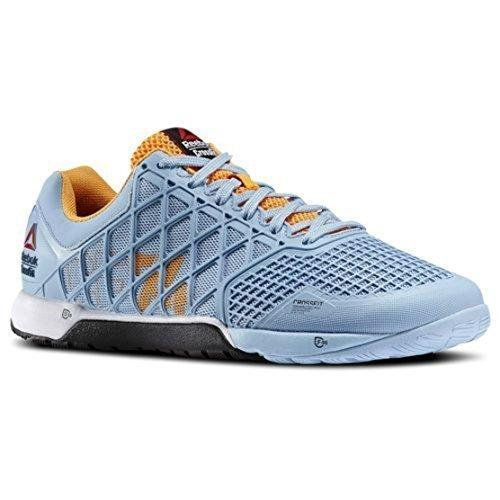 reebok-mens-crossfit-nano-40-sneakers-denim-glow-sunset-orange-black-white-size-85
