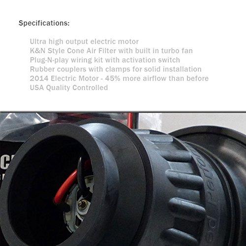 Cheap Universal Supercharger Kit: Electric Supercharger Intake Kit Universal (ERM-5PSI