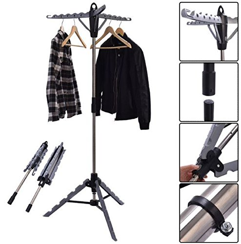 tripod-hanger-clothes-drying-rack-collapsible-retractable-laundry-garment-multifunctional-stand-port