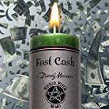 Wicked Witch Mojo ''Fast Cash'' Candle by Dorothy Morrison