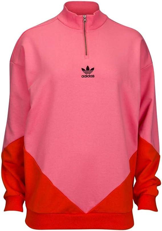 adidas Originals Women's CLRDO Sweatshirt Chalk PinkBold