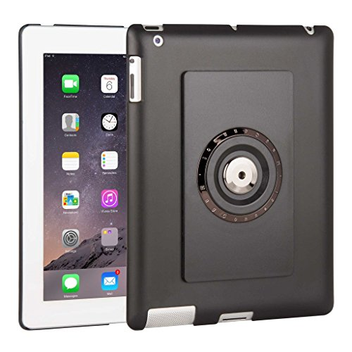 - The Joy Factory MagConnect Smart Cover Compatible Back Tray Case for iPad 2/3/4 (MMA101-K)
