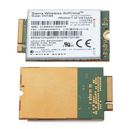 4G LTE FDD MODULE EM7455 SIERRA FRU:00JT547 NGFF M 2 300M CARD AIRPRIME USE  FOR LENOVO THINKPAD T460 T460P T460S L460 L560 YOGA 260