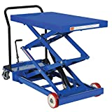Pake Handling Tools Double Scissor Lift Table