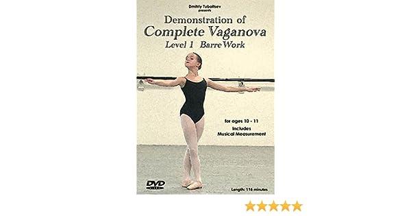 cc3e27a40 Amazon.com  Demonstration of Complete Vaganova Level 1 Barre Work ...