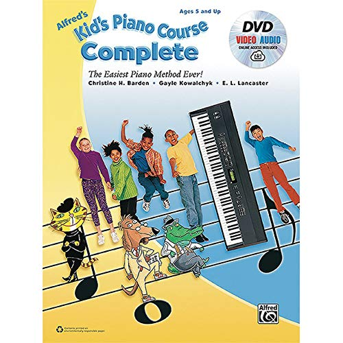 Alfred's Kid's Piano Course, CompleteKeyboard/Piano Book, DVD & Online Audio & Video by Alfred Music