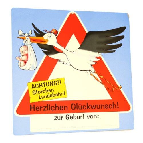 Udo Schmidt Riesiges Schild Zur Geburt Amazon De Küche Haushalt