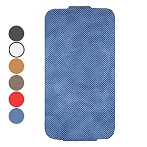 SUMCOM Cowboy Style Flip Designed Cotton Damask Material Full Body Case for iPhone 4/4S (Optional Colors) , White