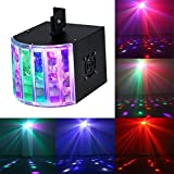 Vitrust 18W Sound Actived RGB stage lights 6 Colors stage Magic effect Lighting with DMX512 beam moving head Disco strobe Lights dj lights laser for KTV Xmas Show Club Pub House