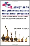 Addiction to Prescription Pain Killers and the Street Drug Heroin, Gregory Pierce, 0615512070
