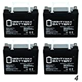 Mighty Max Battery 12V 35AH Battery Replacement for Kangaroo TG-31 Golf Cart - 4 Pack Brand Product