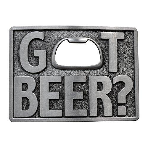 New Vintage Classic Got Beer Bottle Opener Rectangle Belt Buckle - Beer Belt Buckle Bottle Opener