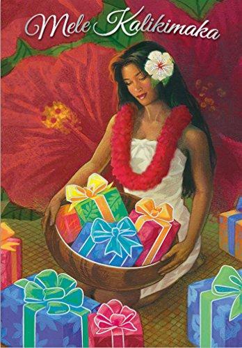 Gifts of Aloha Supreme Hawaiian Christmas Cards / Box of 12