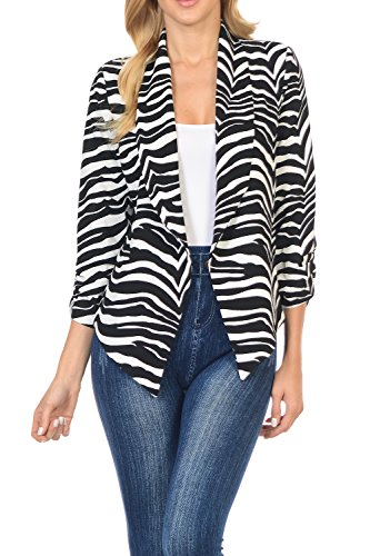Zebra Print Jacket - 2