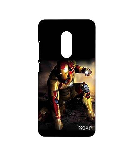 save off 74f6f 29797 Licensed Marvel Comics Ironman Premium Printed Back cover Case for Xiaomi  Redmi Note 4