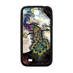 Colorful peacock Cell Phone Case for Samsung Galaxy S4