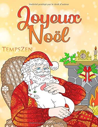 Amazon Com Joyeux Noel Un Livre De Coloriage Pour Les