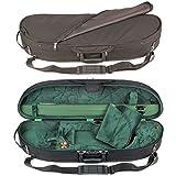 Bobelock Half Moon 1047 Black/Green 4/4 Violin Case