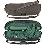 Bobelock Half Moon 1047 Black/Green 3/4 Violin Case