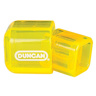 Duncan Double Dice Yo-Yo Counterweight - Strong Polycarbonate Plastic! (Yellow): Toys & Games
