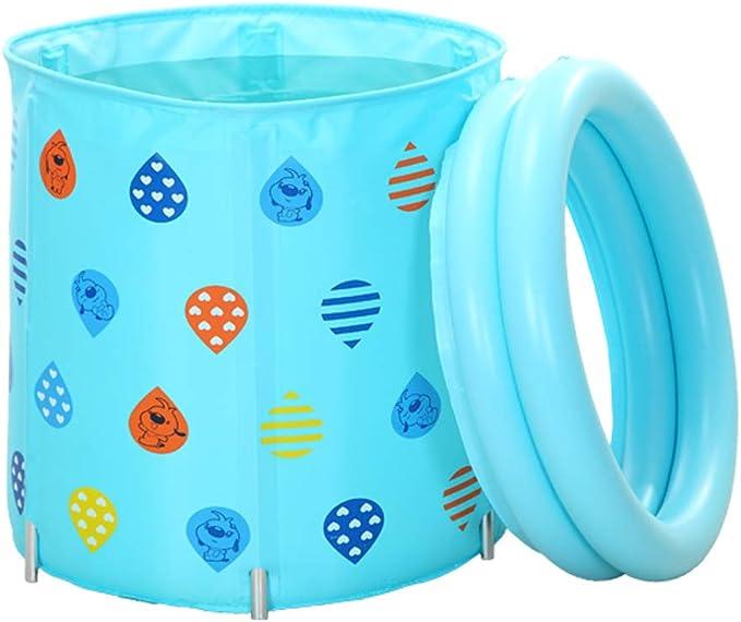 Portable Bathtub Foldable,Barrel Home Insulation Bath Barrel Insulation Bathtub Soaking Bathtub Inflatable Bathtub for Adults Student
