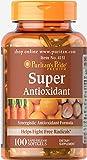Best Antioxidant Supplements - Puritan's Pride Super Antioxidant Formula-100 Softgels Review