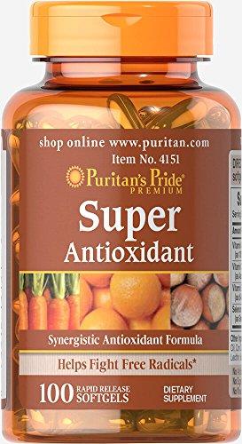 Puritan's Pride Super Antioxidant Formula-100 Softgels