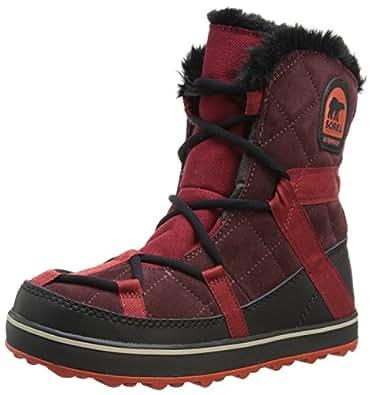 Amazon.com | SOREL Glacy Explorer Shortie Boot - Women's