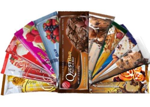 Quête Bar Variété Bundle-12 Pack (1 de chaque)