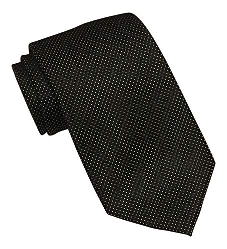 Geoffrey Beene Black Dotted Tie