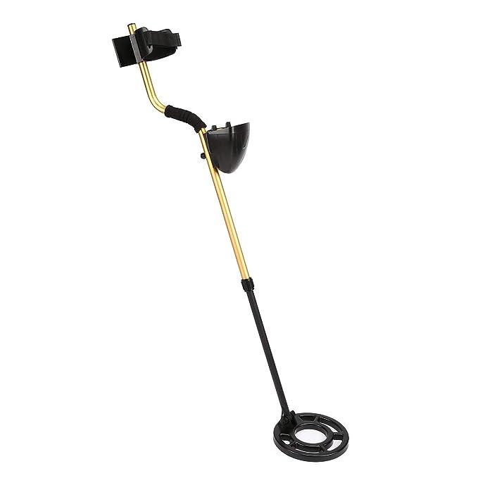 WOSOSYEYO Detector de Metales subterráneo Profesional MD3009II Cazador de Tesoros de Mano Cazador de Oro buscador Sensible a la Humedad Ajustable (Color: ...