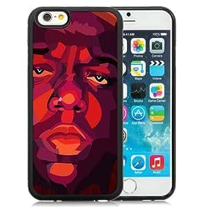 iPhone 6 Cover Case,Papers.co Hd Biggie Smalls Notorious Big Rapper Music Black Personalized Cool Design iPhone 6 4.7 Inch TPU Case