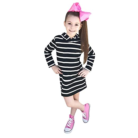 8c7b2bf13291f Amazon.com: SUNBIBE👻Kids Baby Girls Cotton Clothing Simple Style ...