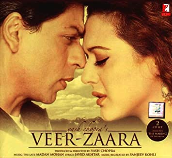 Various Artist Veer Zaara Bollywood Movie Indian Cinema Hindi Film Cd Amazon Com Music