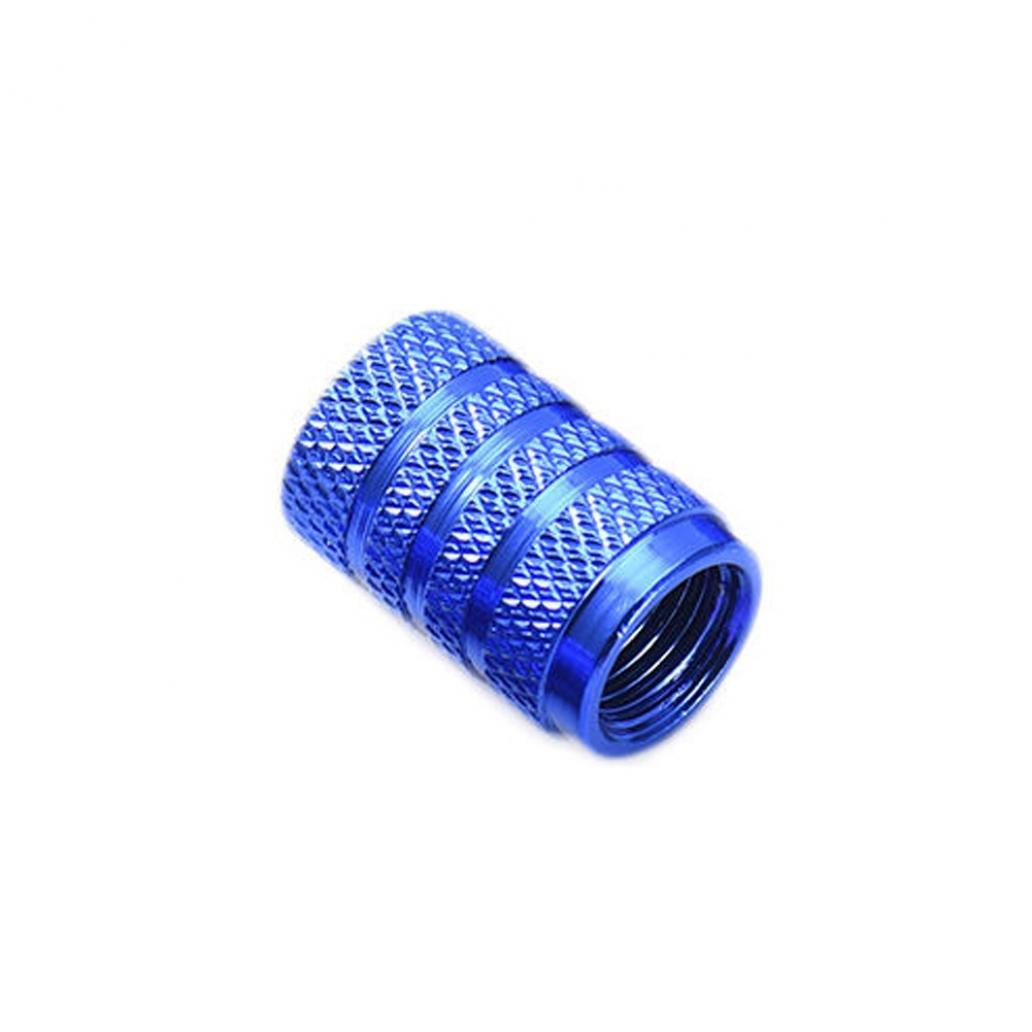 KaariFirefly 4pcs in lega di alluminio pneumatico auto gomma US tipo valvola aria tappo stelo Port Dust cover