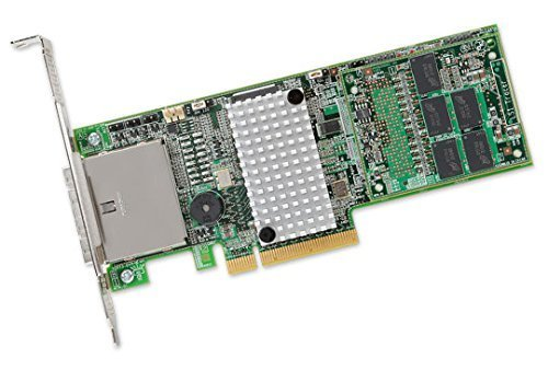 LSI Logic Controller Card L5-25421-12/21 MegaRAID SAS 9286CV-8e 8Port 6Gb/s PCI Express 1GB Single