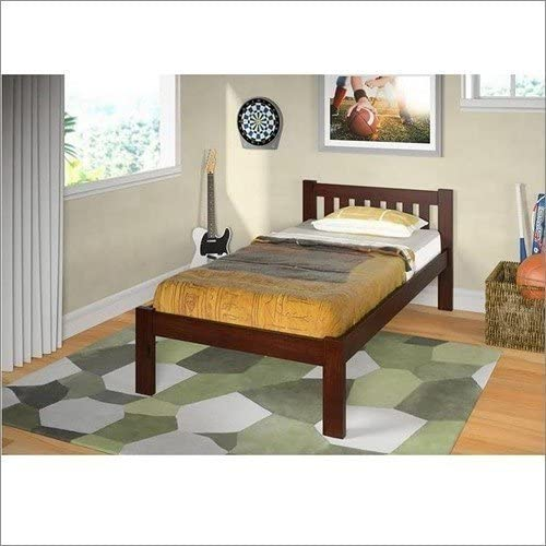 Donco Kids Mission Bed, Twin, Dark Cappuccino