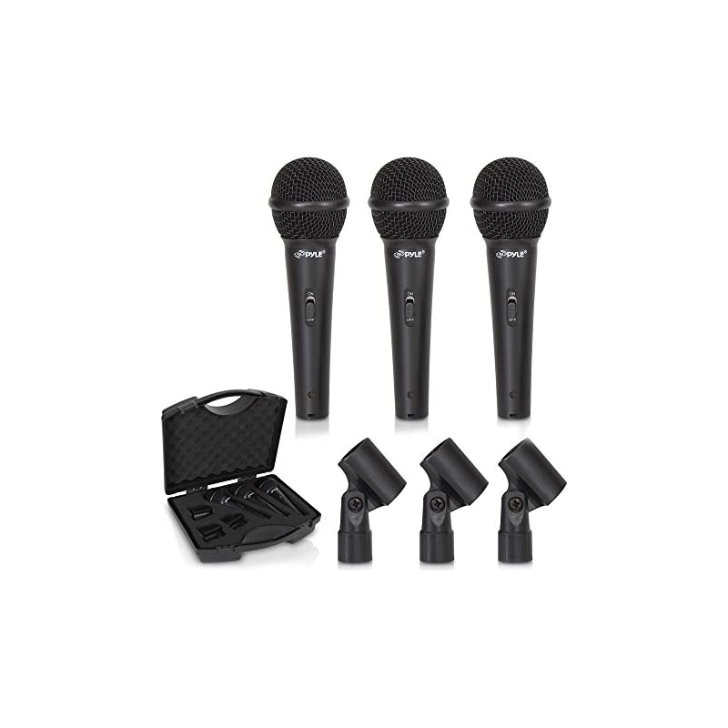 3-Piece Professional Dynamic Microphone