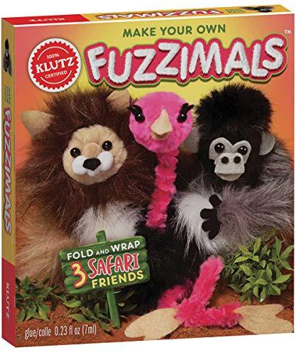 Pom Pom Own - Klutz Make Your Own Fuzzimals Craft Kit